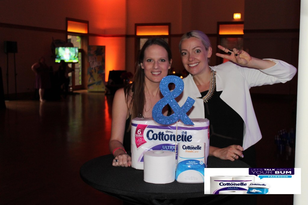 Janice and Cottonelle pic