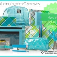 Back to School with OfficeMax Hues of Blues #Giveaway #backtoschool