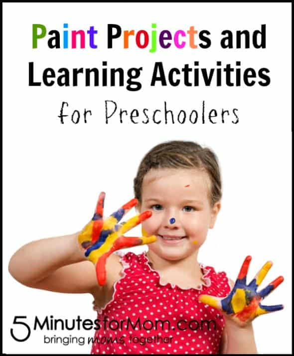 Painting with Preschool Children