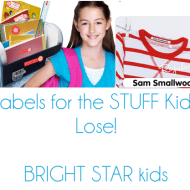 Bright Star Kids School Labels Kit Keep Your Items Close at Hand