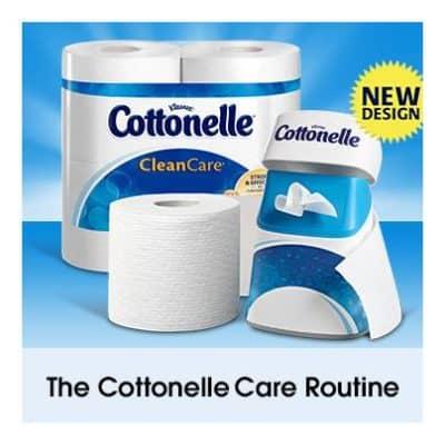 cottonelle-routine