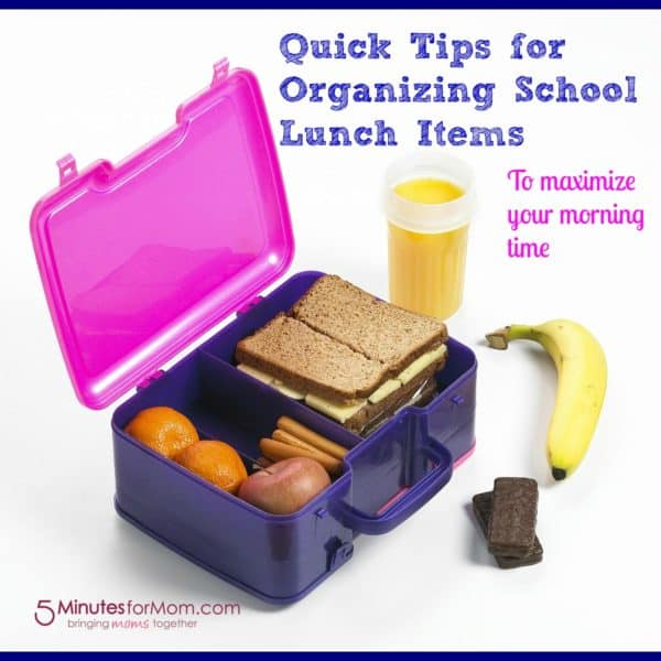 Tackling Back to School Lunches