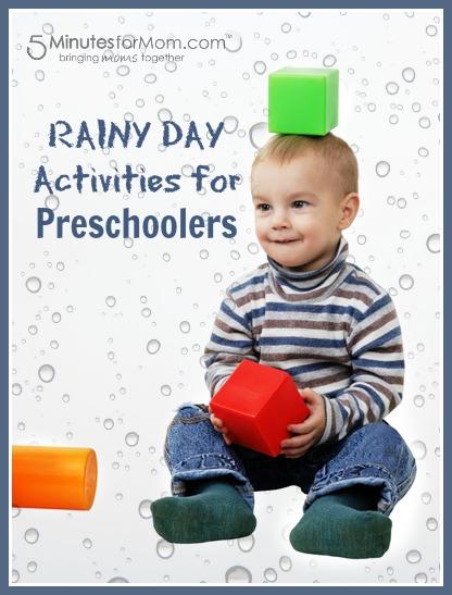 Rainy Day Activities for Preschoolers