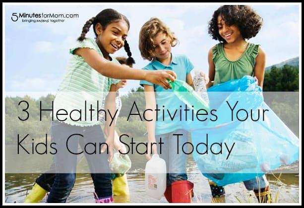 3 activities to help kids be more active