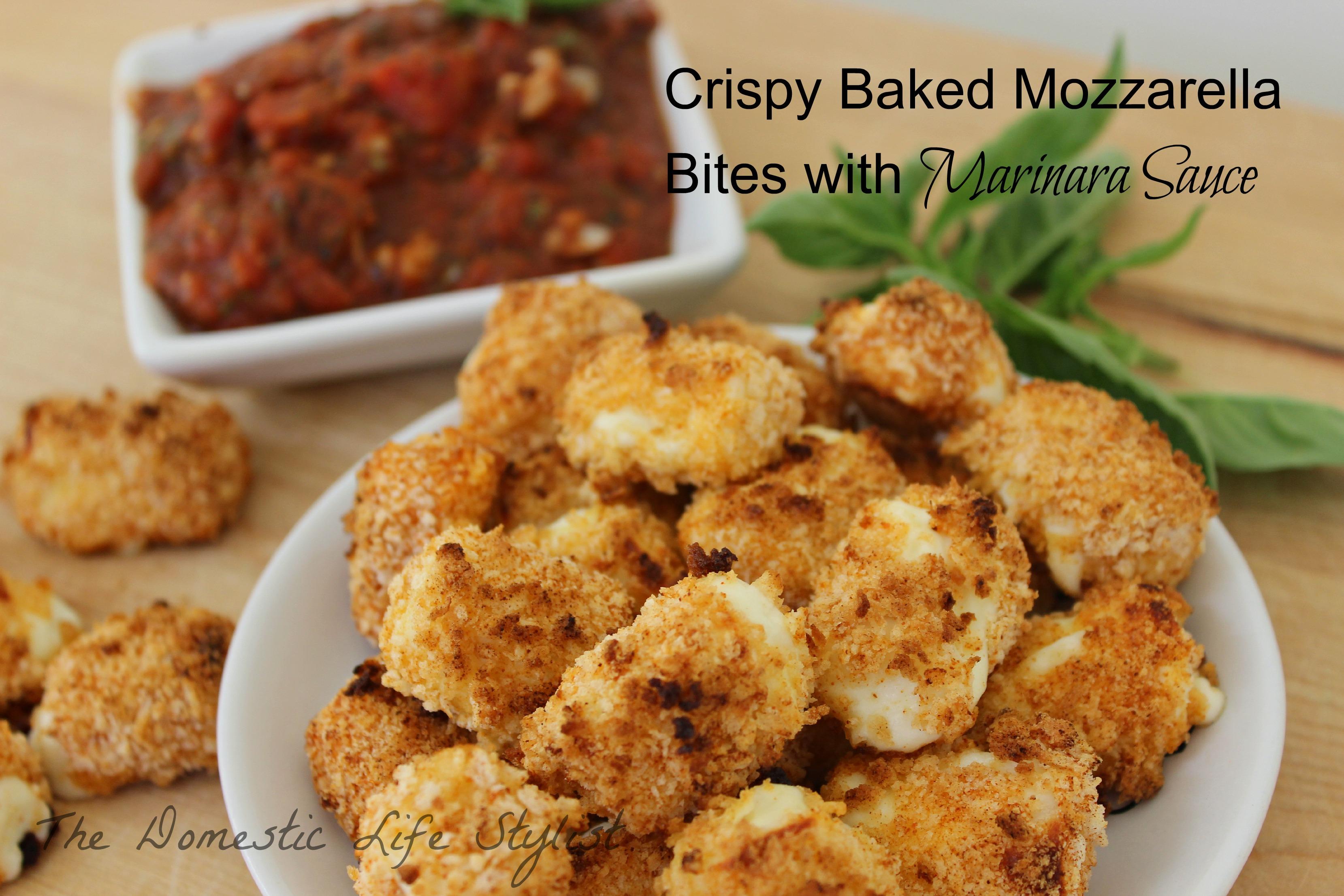 Baked mozzarella bites2