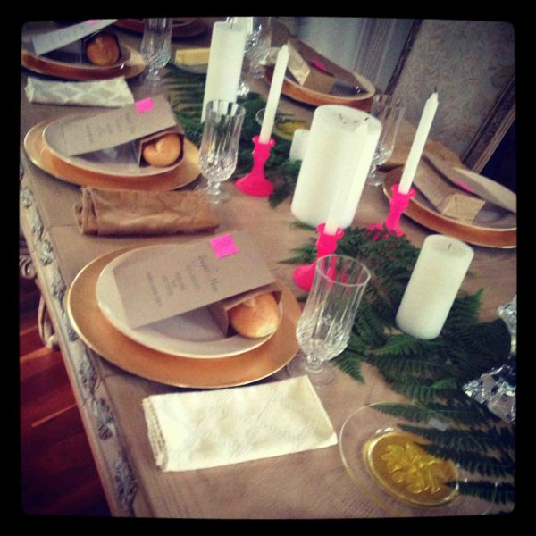 Tackling a DIY Dinner Party