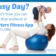 How to Fit in Fitness in Your Busy Day with Starters