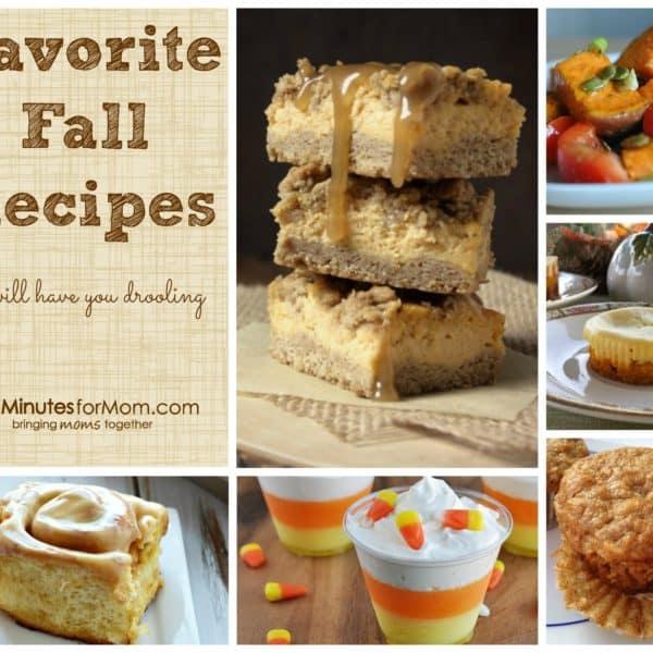 6 Favorite Fall Recipes