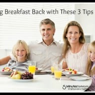 Bring Back Breakfast with these 3 Tips from Hungry Jack #ad