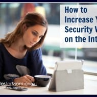 How to Increase Your Security While on the Internet
