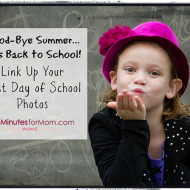 First Day of School 2013 Photo Link Up #BackToSchool