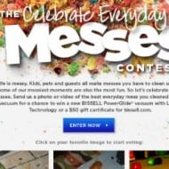 Celebrate Everyday Messes and Win a new BISSELL PowerGlide Vacuum