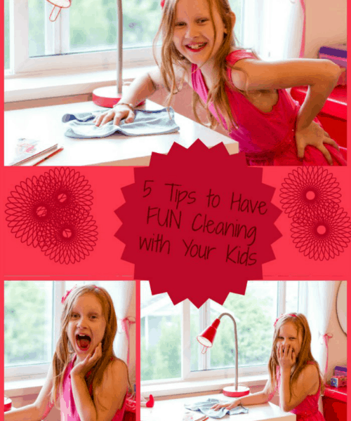 5 Tips to Have Fun while Cleaning With Kids