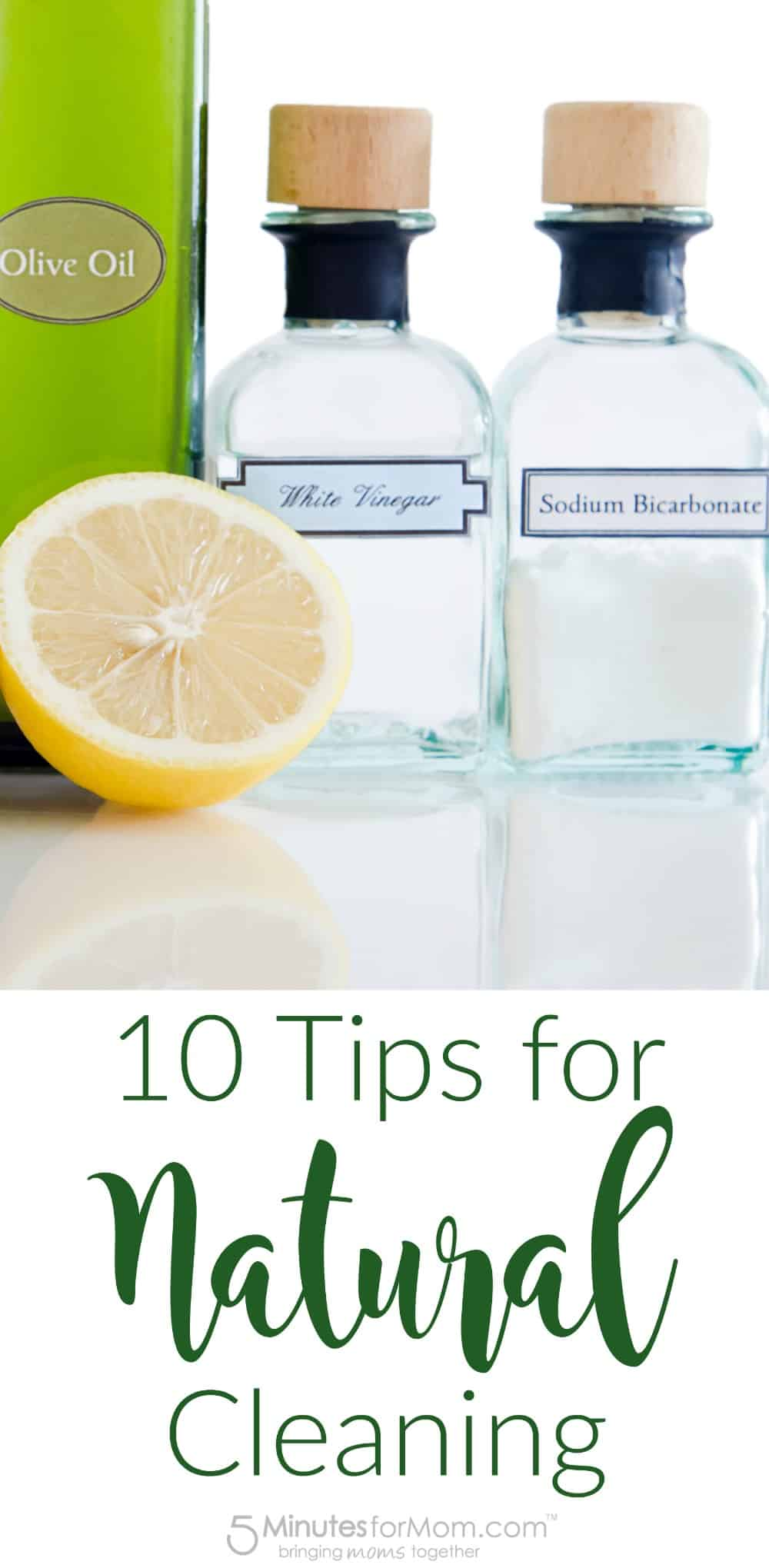 10 Tips for Natural Cleaning