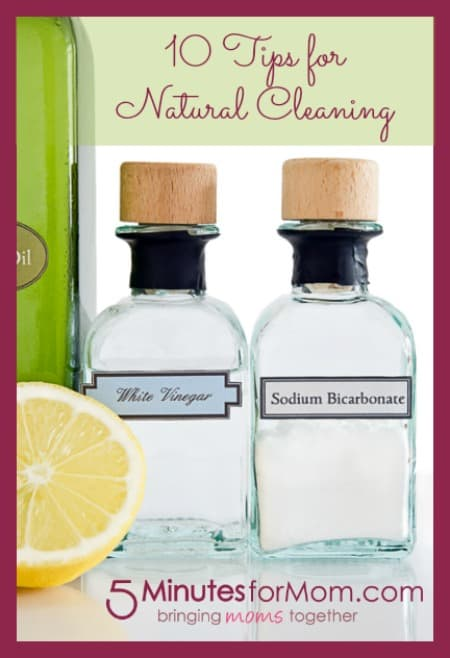 10 tips for natural cleaning with easy diy homemade cleaning product recipes 5 minutes. Black Bedroom Furniture Sets. Home Design Ideas