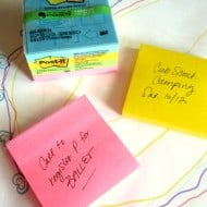 Family Organization Tips with Evernote Post-it Products