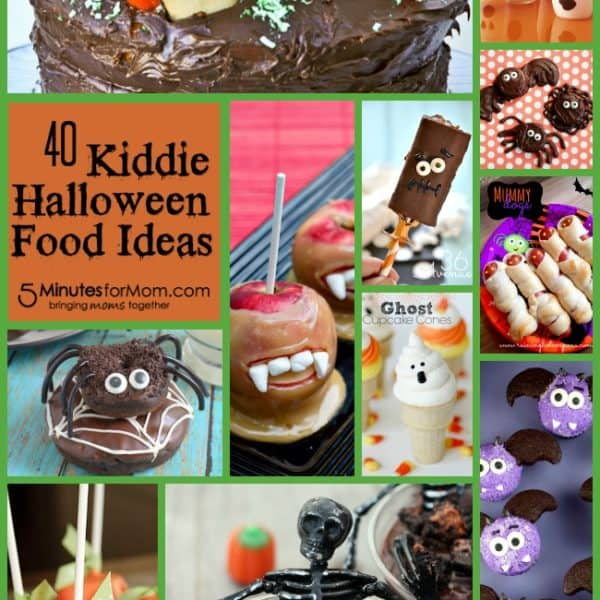 40 Kiddie Halloween Food Ideas