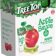 TreeTop Apple Sauce Pouches Review & Giveaway