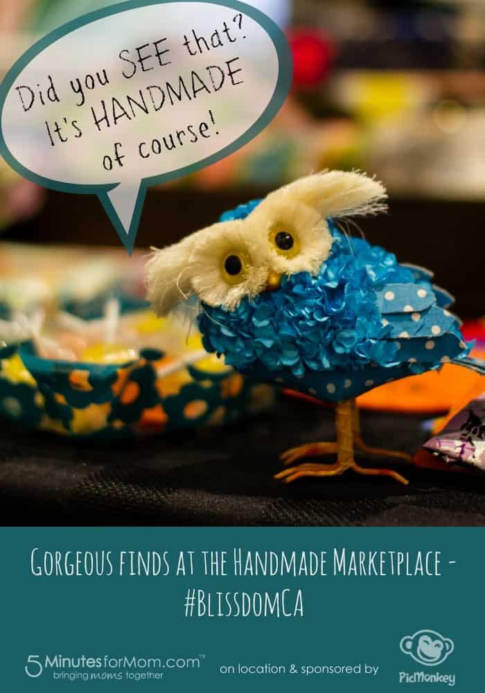 Handmade Marketplace at BlissdomCA