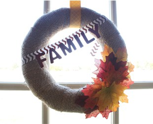 DIY Fall Burlap Wreaths