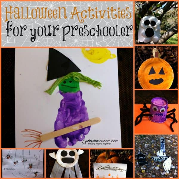 Halloween Activities for Your Toddler and Preschooler