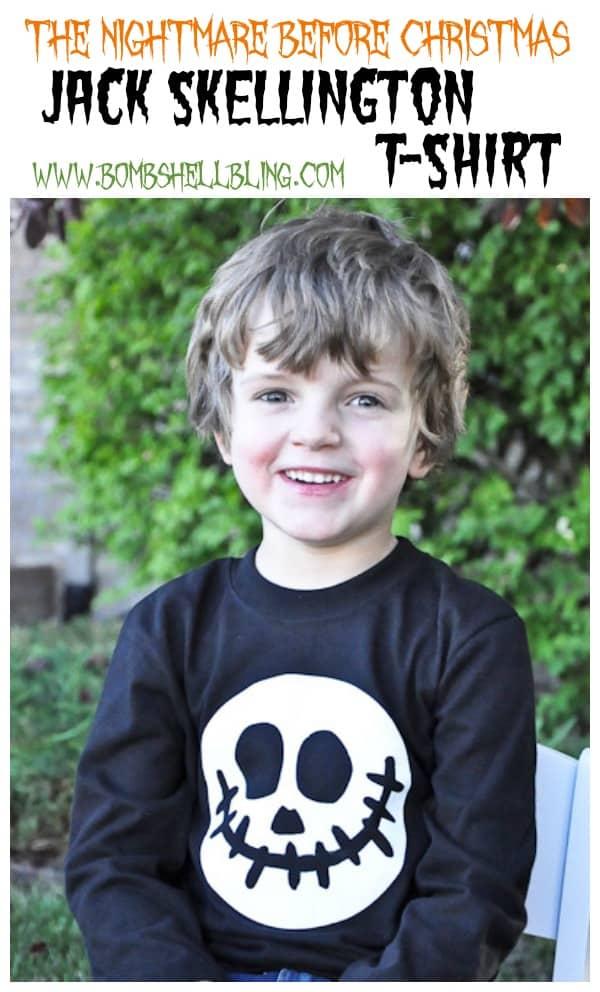 Jack Skellington T-Shirt from Bombshell Bling
