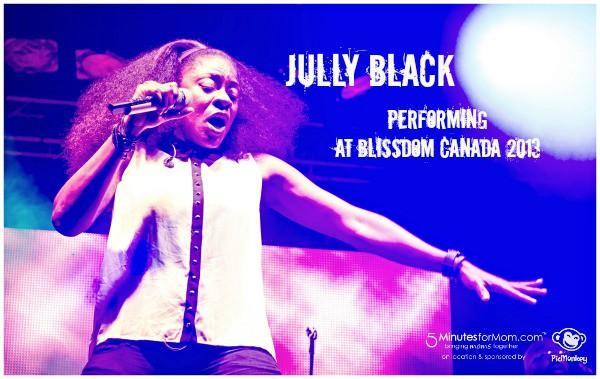 Jully Black Blissdom Canada