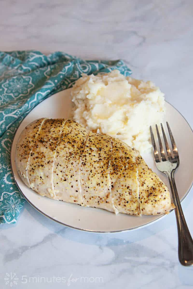 Lemon Pepper Chicken with Loaded Mashed Potatoes