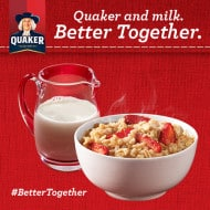 Milk and Oats Go Better Together #bettertogether + An Old Recipe That Has Been Updated