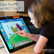 Sony VAIO Tap 20 Mobile Touch Desktop — A PC Designed for Family Life