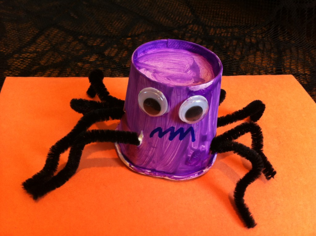 Spider Paper Cup