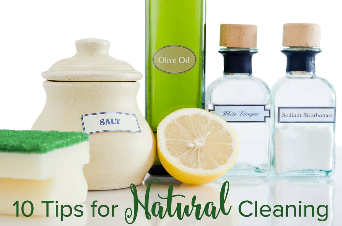 10 tips for natural cleaning with easy diy homemade cleaning product recipes. Black Bedroom Furniture Sets. Home Design Ideas