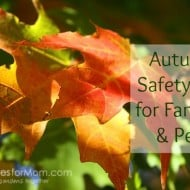 Autumn Safety Tips for Families & Pets