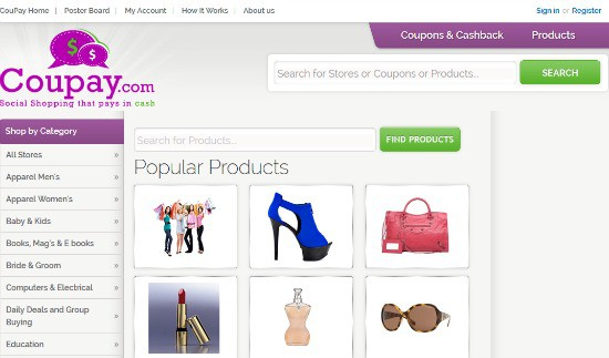 Coupay.com: Save on Shopping Thru Social Sharing