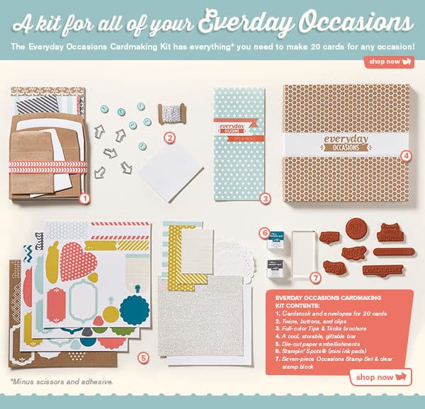 Everyday Occasions by Stampin' Up! {Review & Giveaway}