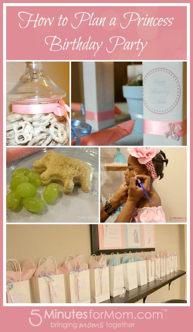 princess party business plan