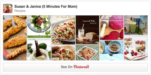 recipes pinterest board