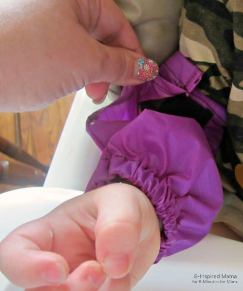 Sleevie Savers Cover Messy Kids Sleever - B-Inspired Mama at 5 Minutes for Mom