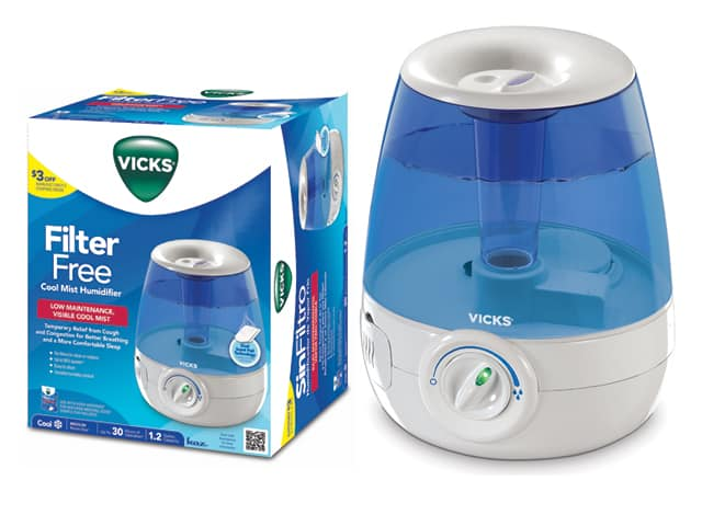 vicks cool mist humidifier from kaz giveaway. Black Bedroom Furniture Sets. Home Design Ideas