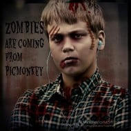 Get Your Zombie On… It is Halloween at PicMonkey