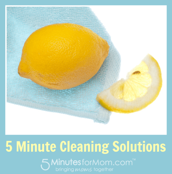 5 Minute Cleaning Solutions