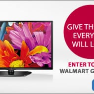 Win $100 while finding great prices on LG Electronics at WalMart.com
