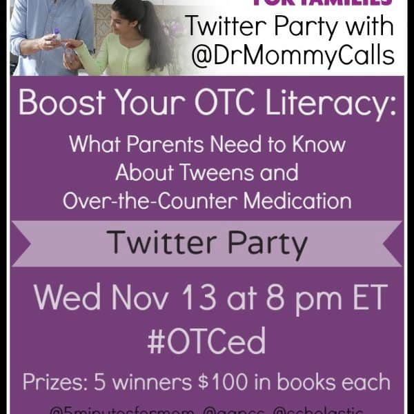 What Parents Need to Know About Tweens and Over-the-Counter Medication #OTCed