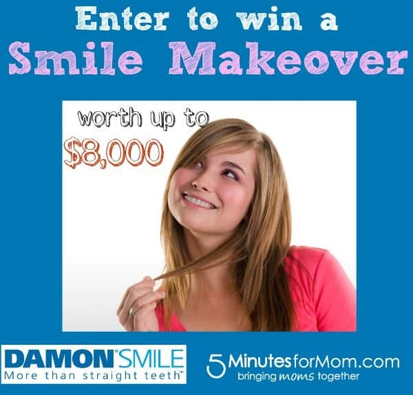 Win a Smile Makeover of a Lifetime! #giveaway #damondiva