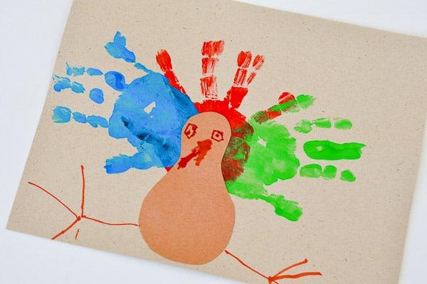 Thanksgiving Handprint Art-1