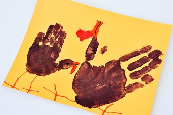Thanksgiving Handprint Art-3