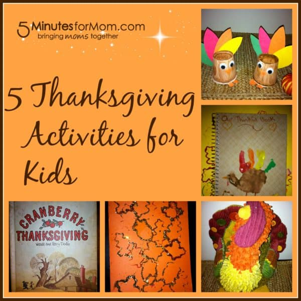 5 Thanksgiving Activities for Children