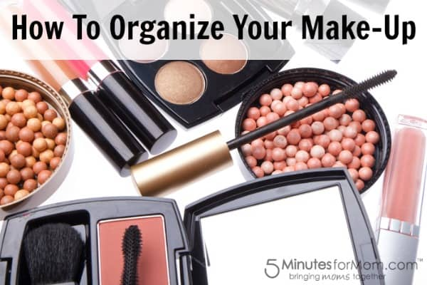 Organize Your Make-Up: Using Everyday Items