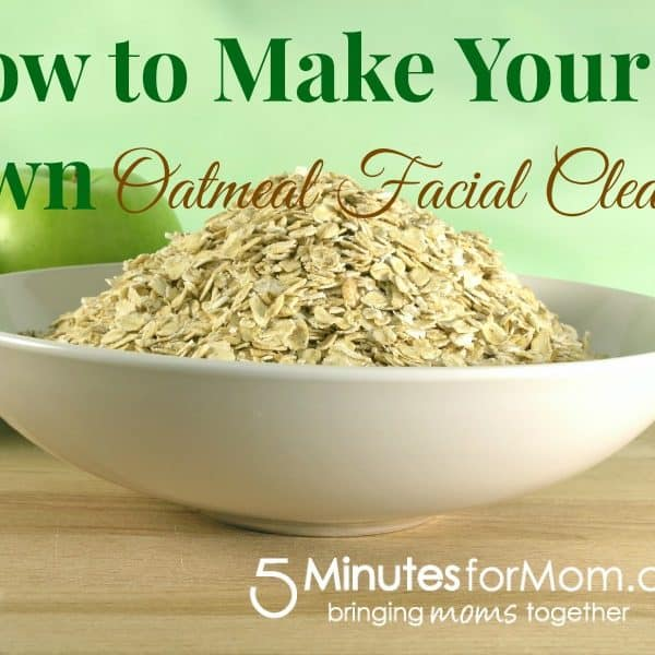 How to Make Your Own DIY Oatmeal Facial Cleanser #bettertogether