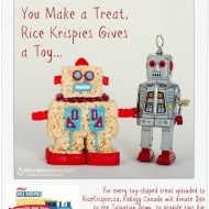 Rice Krispies Treats Turn into Toys – Holiday Baking with a Charitable Twist #TreatsForToys